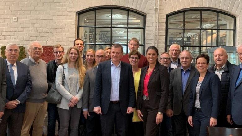 Europaabgeordneter Markus Pieper unter Mittelständlern