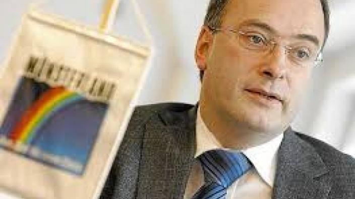Klaus Ehling wirbt für die Marke Münsterland