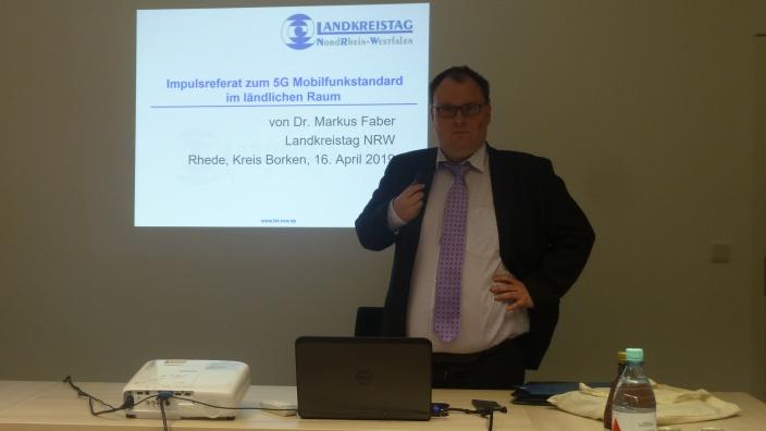 Dr. Markus Faber unterrichtete MIT-Vorstand über 5G