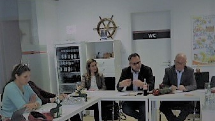 CDU-Bürgermeisterkandidat Thomas Kerkhoff stellte sich im MIT-Vorstand vor